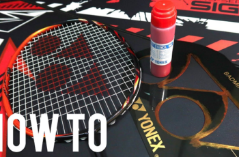Best Badminton Racket Stencil Ink