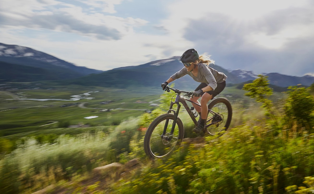 How to Climb and Descend on a Mountain Bike